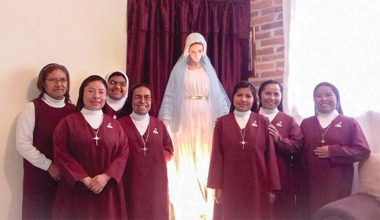 Communauté religieuse du Mexique