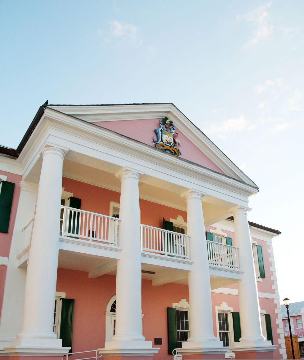 Bahamian parliament senate building azaleta compressor