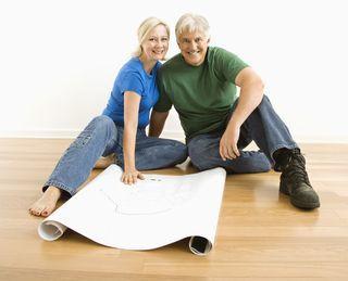 Floor plan couple
