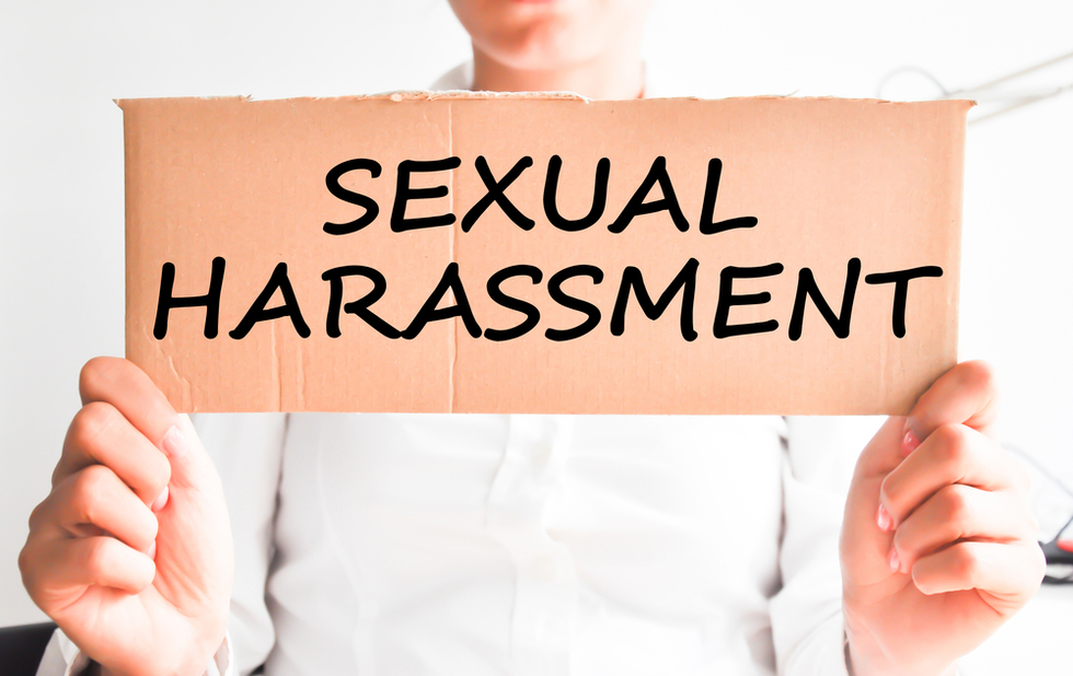 Top 5 steps if youre secually harassed