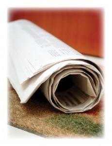 Newspaper carrier 231x300