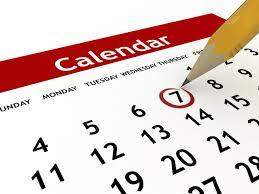 Calendar late paycheck