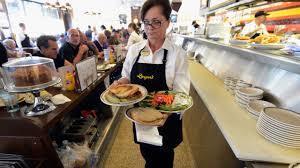 Restaurant workers tip pooling