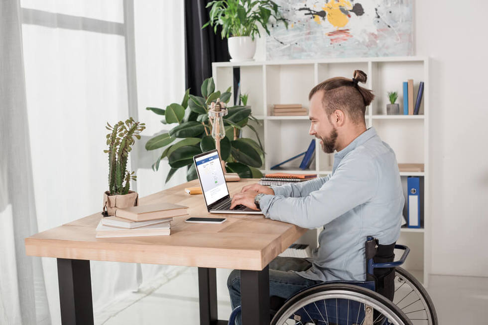 Work from home disability