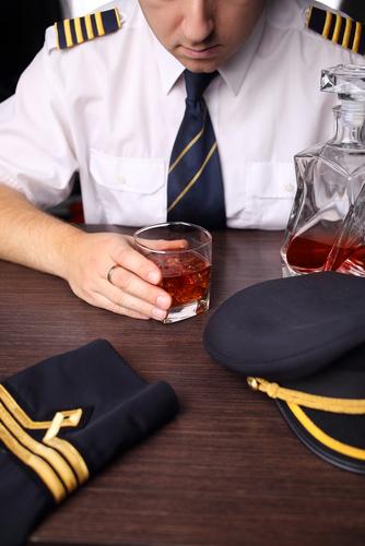 Pilot 20drinking
