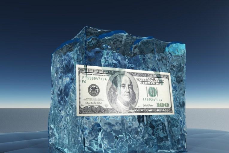 Frozen asset