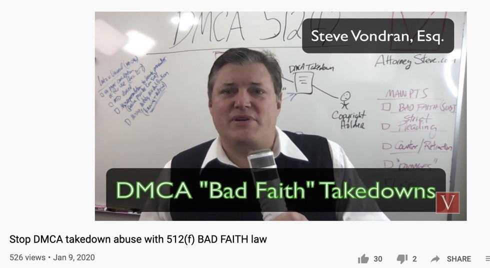 Youtube DMCA law firm