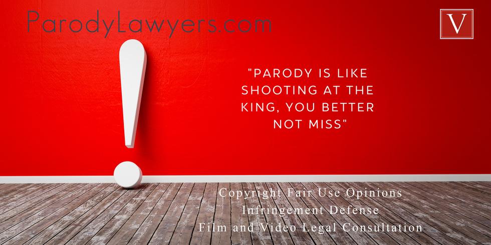 Hollywood parody lawyer