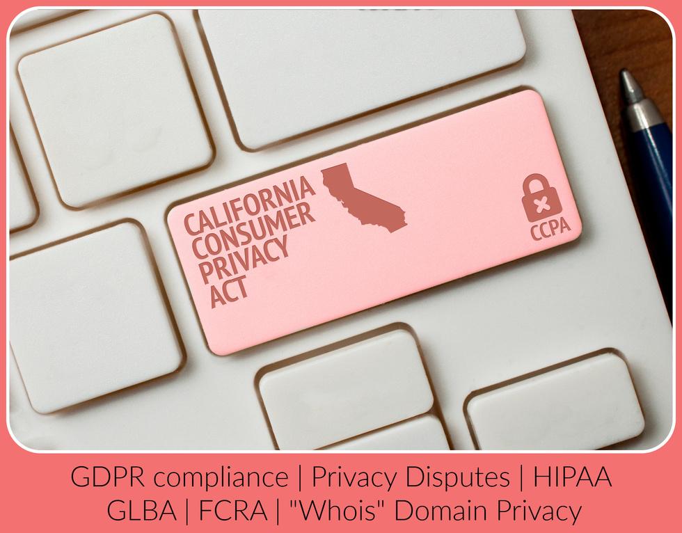 California CCPA attorney