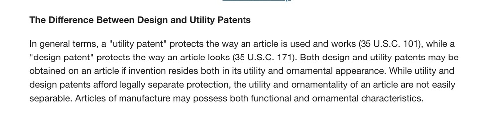 how to obtain a design patent