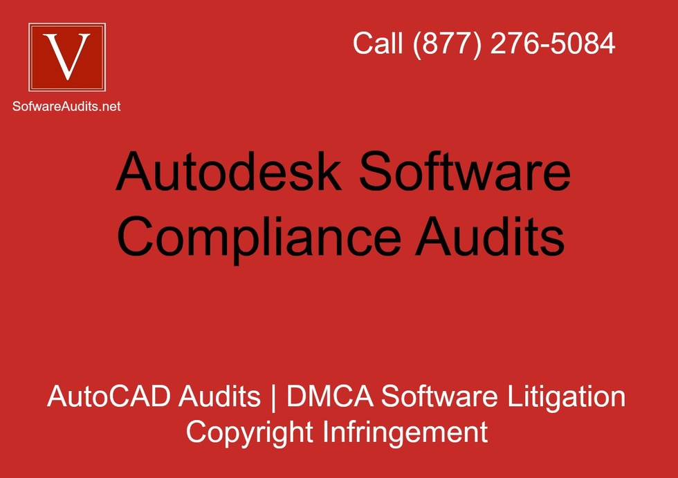 Software audit letter autodesk
