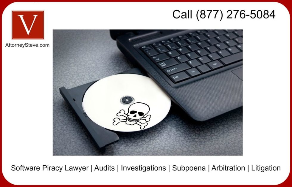 How to handle software piracy letter