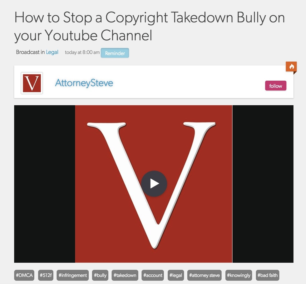 Dmca copyright takedown bully 512f