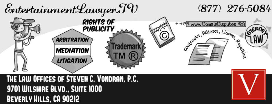 Los angeles county entertainment lawyer for models