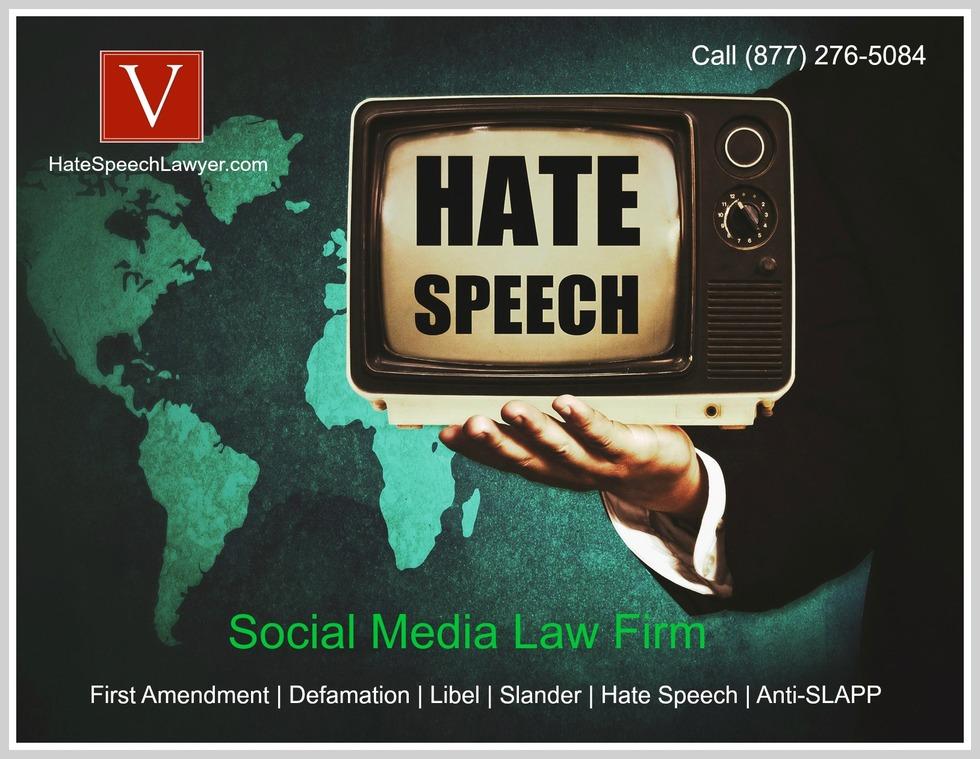 California hate speech lawyer
