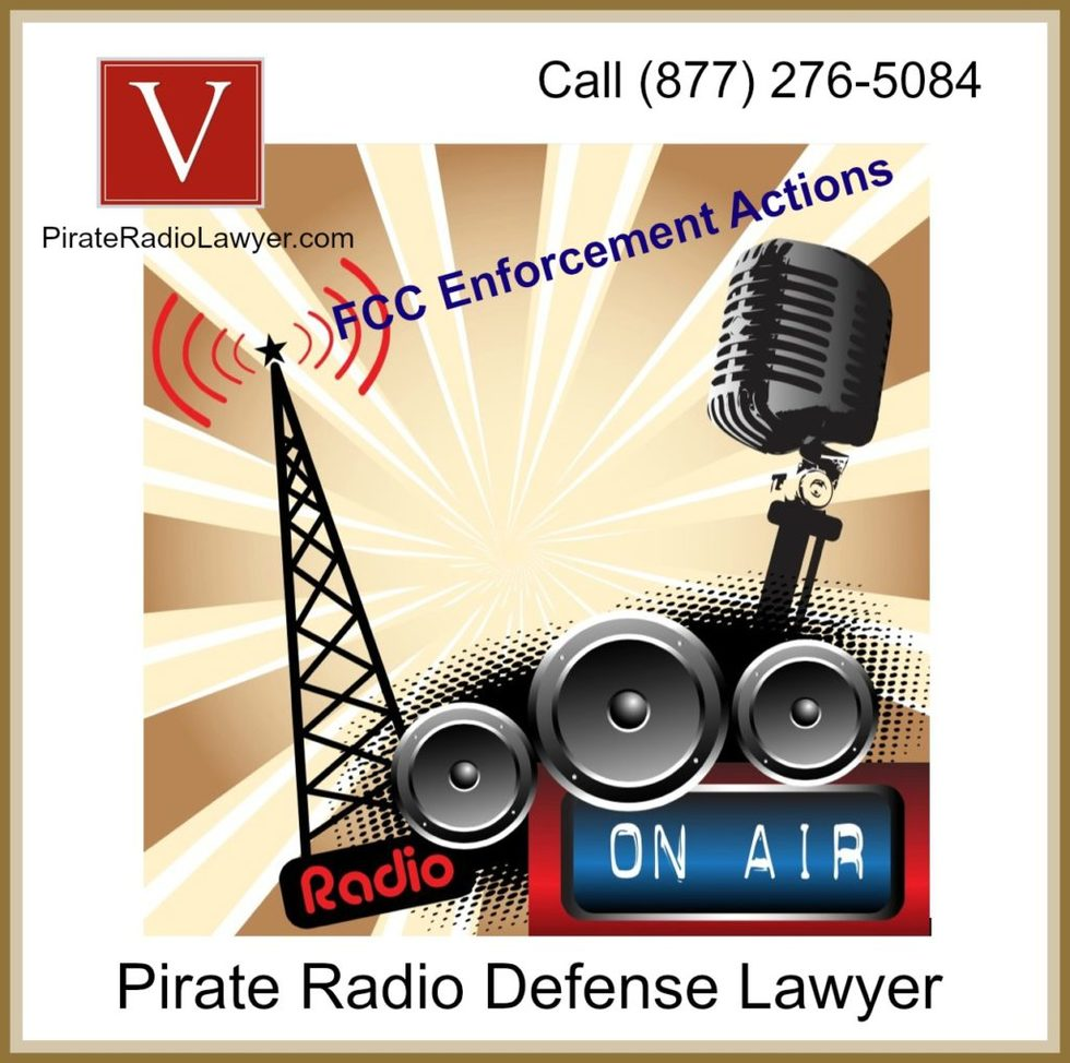 FCC Pirate Radio Enforcement Lawyer