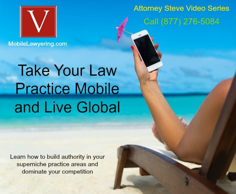 Mobile lawyering is awesome