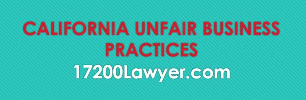 California 17200 lawyer