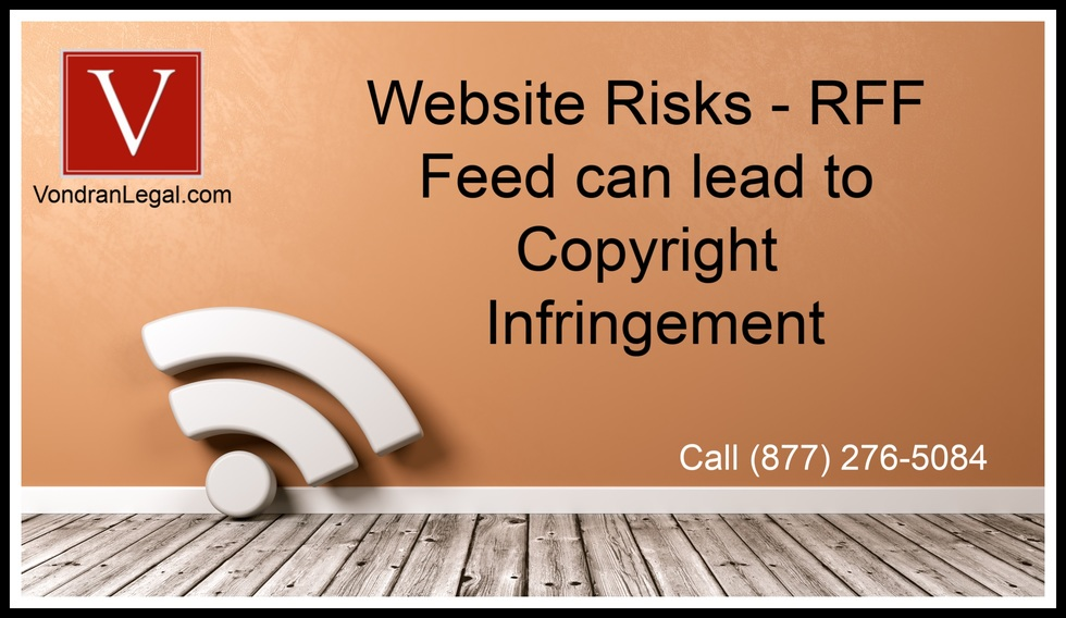 Subscribe to rss feed copyright legal problem