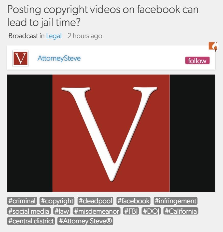Social media law firm orange county