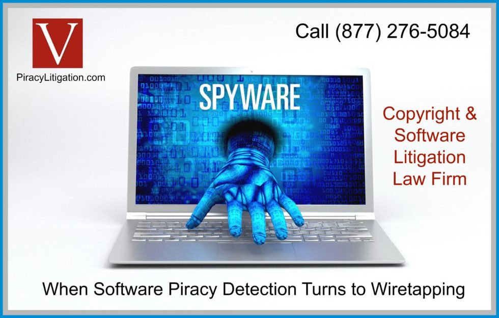 Wiretapping to obtain evidence of software piracy 1024x652