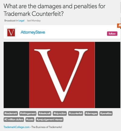 Trademark counterfeit attorney