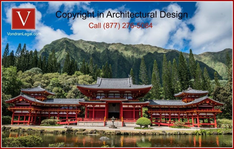 Can you copyright architectural design 1024x655