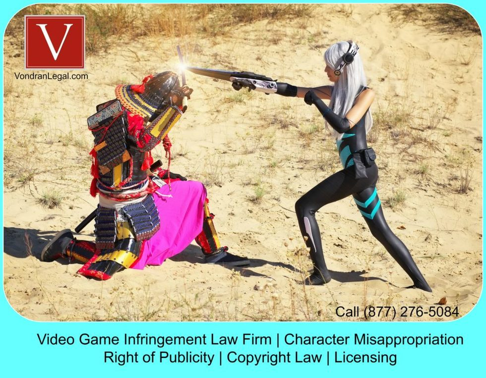 Video game character infringement lawyer 1024x797