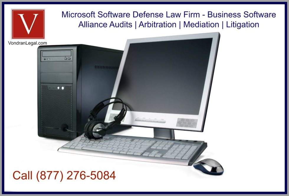 Microsoft software license defense lawyer 1024x695