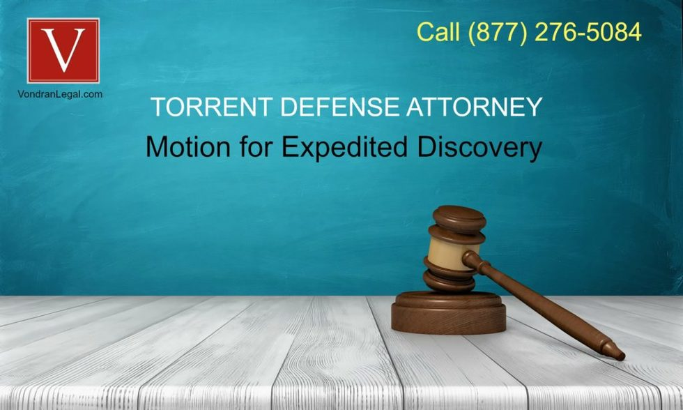 Motion for expedited discovery 1024x614