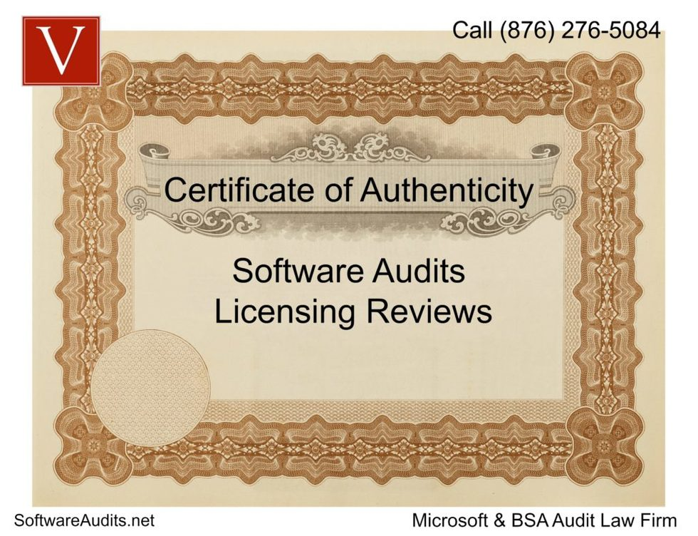Microsoft certificate of authenticity bsa audit 1024x786