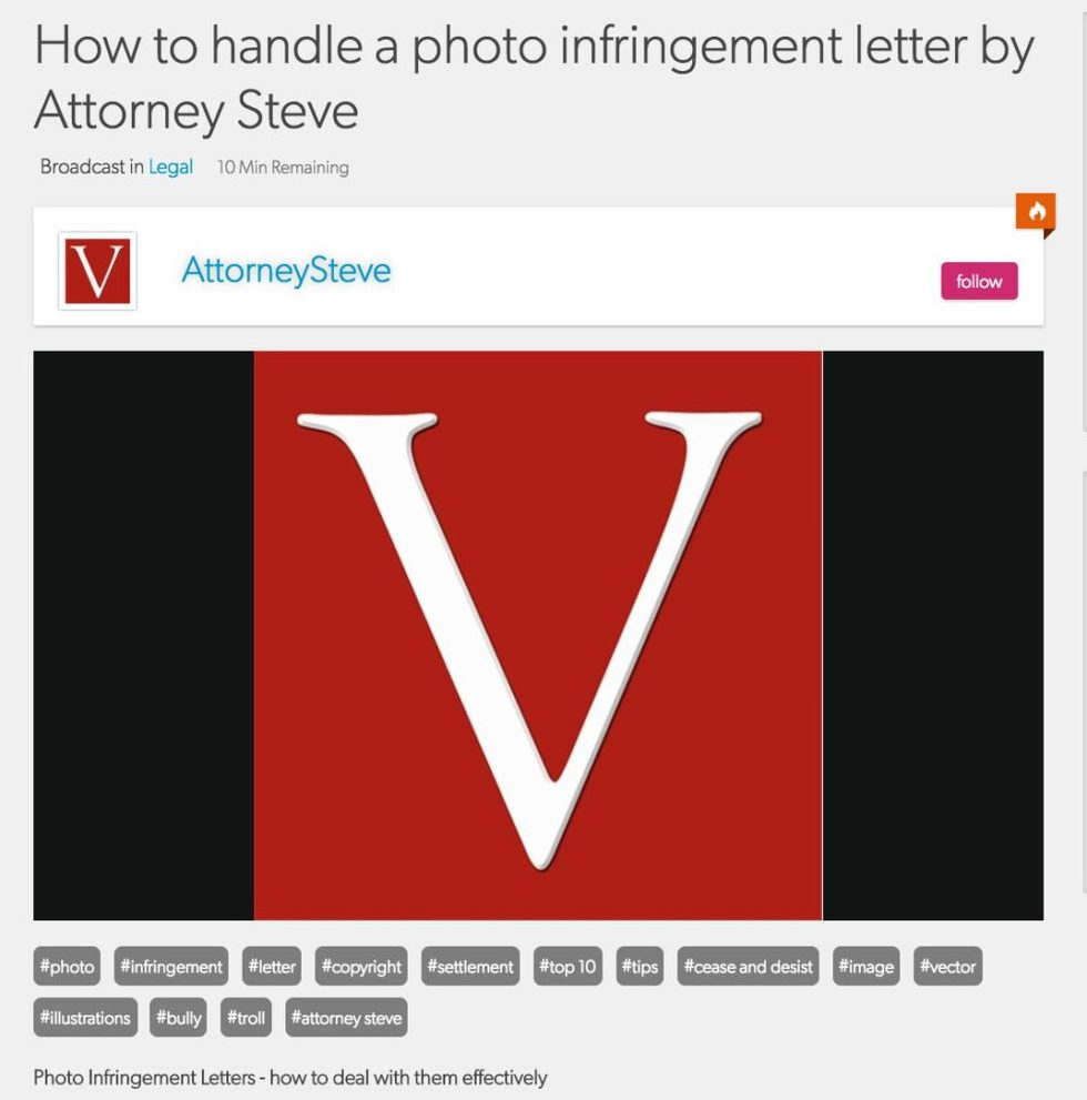How to handle a photo infringement demand letter 1013x1024