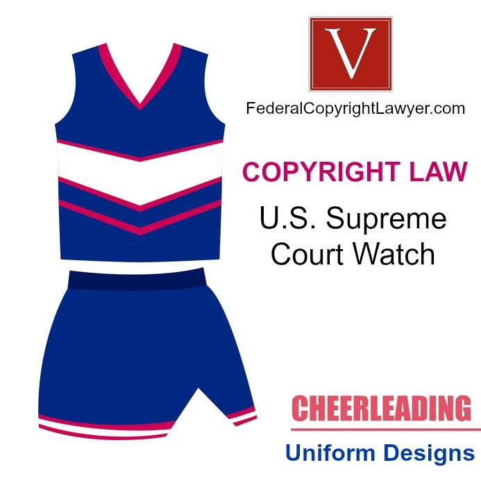 Can you copyright a cheerleading outfit