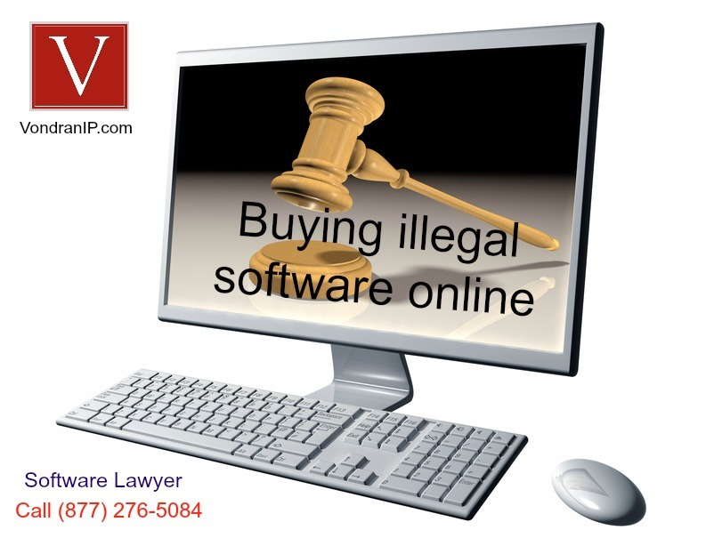 Ebay illegal software purchase