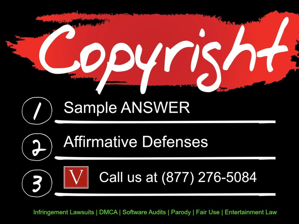 Sample answer to copyright infringement complaint 1024x768