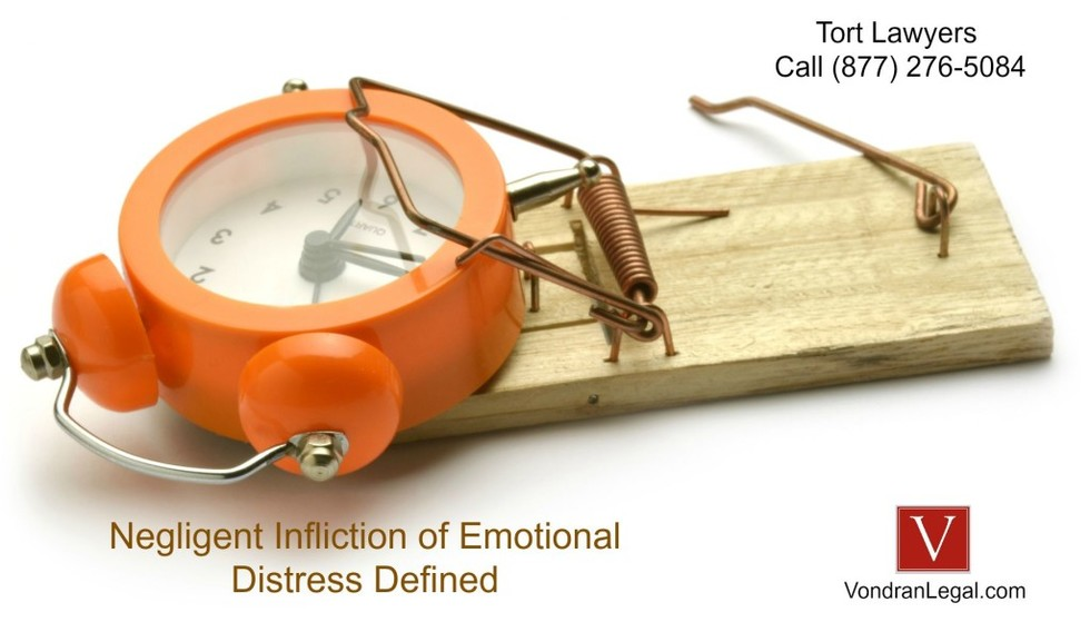 Negligent infliction of emotional distress legal definition 1024x584