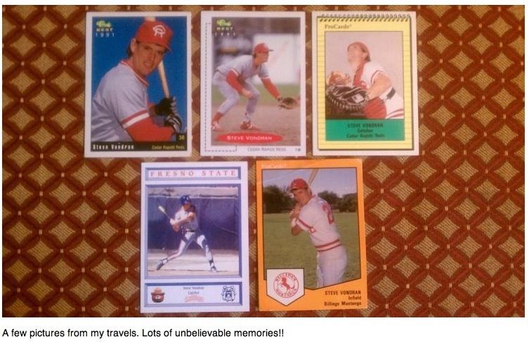 Steve vondran baseball story