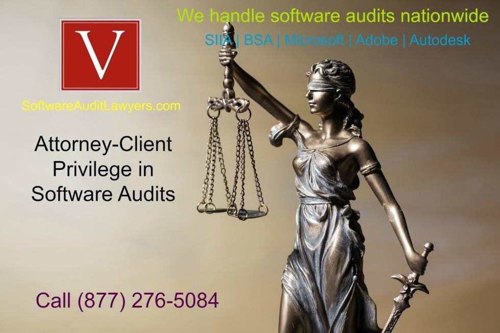 Attorney client privilege in software audits 1024x682