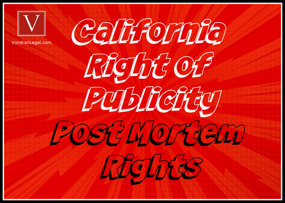 California Right of Publicity Lawyer