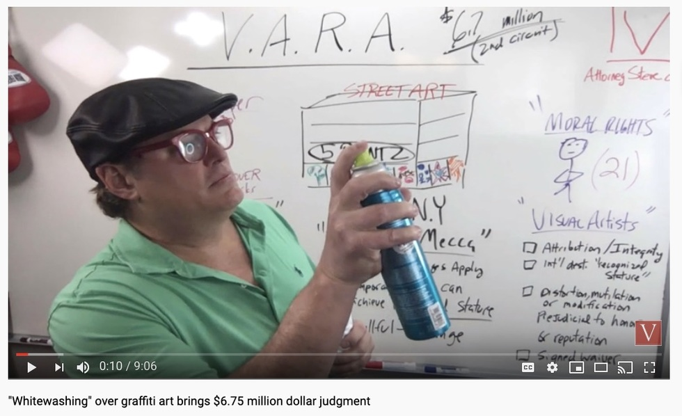 graffiti lawyer VARA