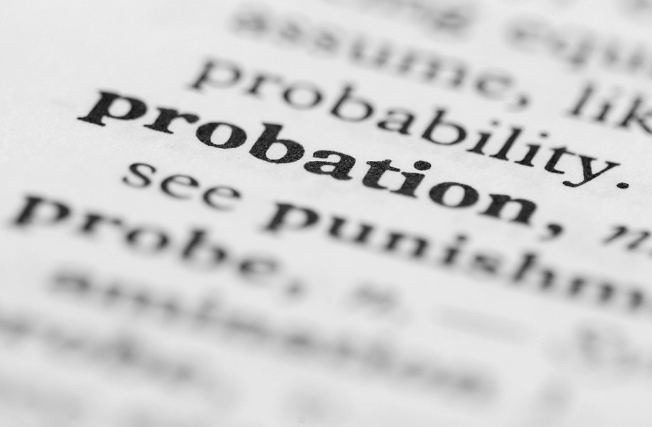 Dictionary Entry for Probation