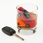 Car in shot glass dui