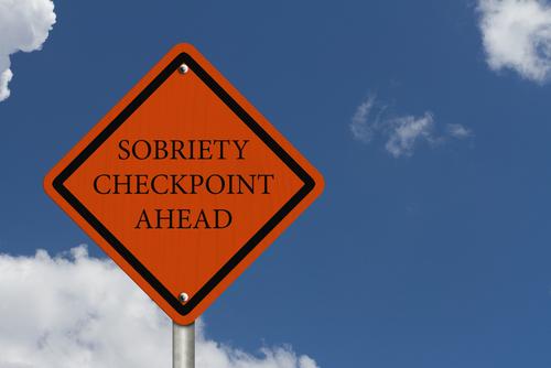 Sobriety 20checkpoint