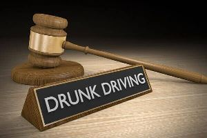 South Portland Maine DUI Attorney - Drunk Driving Sign