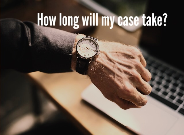 How long will my personal injury case take