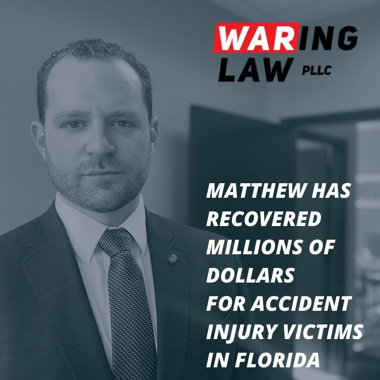 Matthew Waring Law Auto Accident Attorney Jacksonville