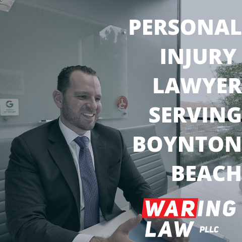 Waring Law Provides Legal Representation to Boynton Beach Accident Injury Victims