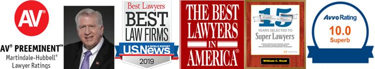 William Head Legal Awards