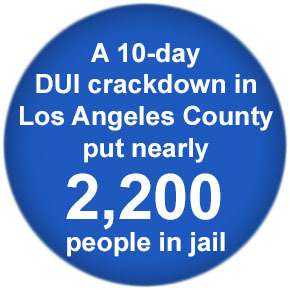 Dui arrests los angeles county