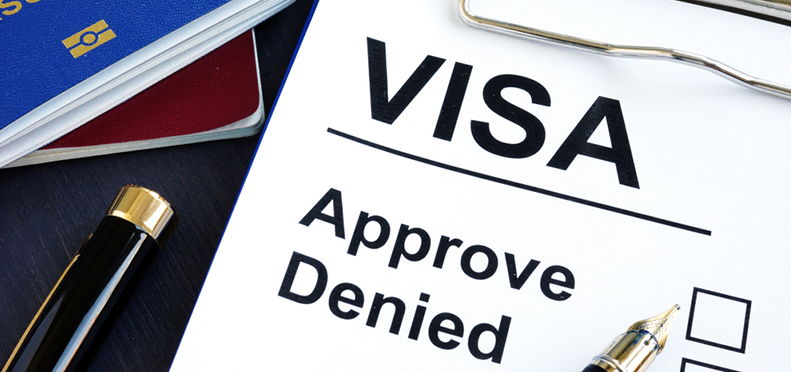 What are some common reasons your visa might be denied